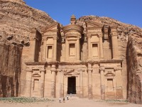 Petra, the pink city in Jordan