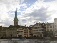 City view in Zurich, Austria