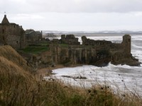St. Andrews castle in Scotland