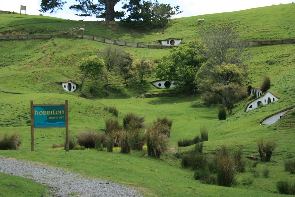 Hobbiton, Matamata, Hinuera Valley, New Zealand