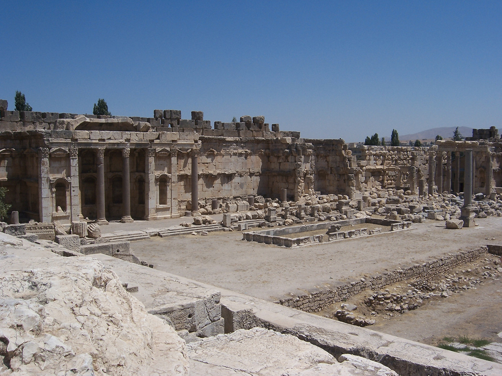 The Great Court at Baalbek