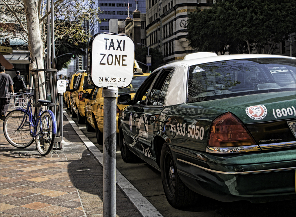 Los Angeles taxi station