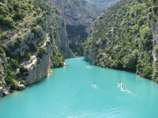Verdon Canyon in Provence region, France