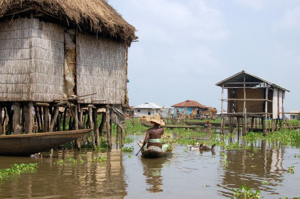 Ganvie - the floating village in Ganvie