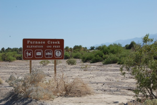 Entrance to Furnace Creek