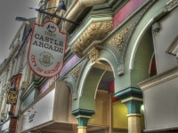 Castle Arcade, one of the Victorian Shopping Arcades of Wales