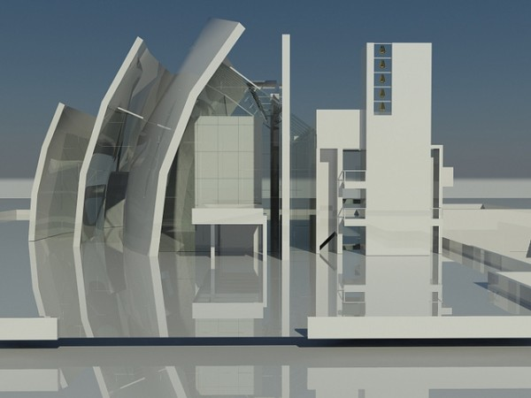 Mock-up of the Jubilee Church