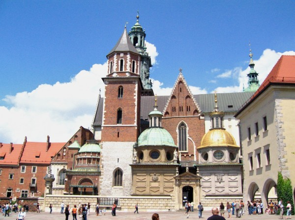 Wawel Castle cathedral in Krakow