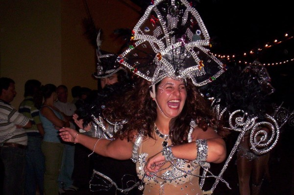 Tenerife Carnival dancer