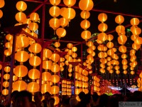 Scene from the Hong kong lantern festival