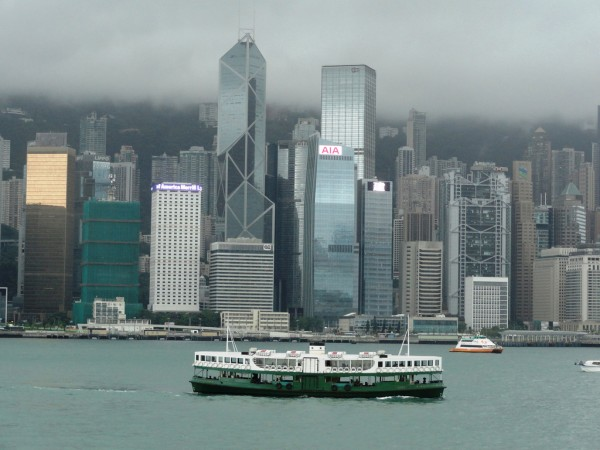Star Ferry in Hong Kong Harbor