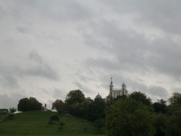 Royal Observatory from a distance